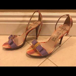Salvatore ferragamo spring heels